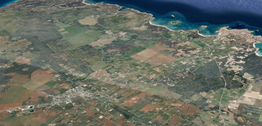 Terreno rústico con vistas panorámicas