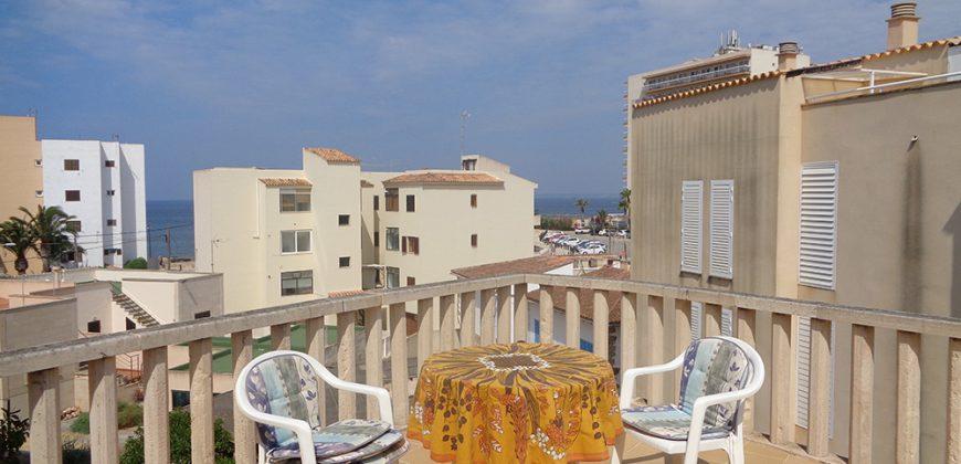 Atico en 2º planta con 4 terrazas a 50 metros del mar