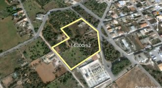 Huge plot on the outskirts of Ses Salines with nice views
