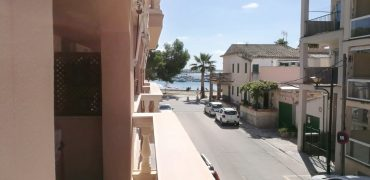 In the port of Colonia Sant Jordi, just 100 meters from the sea,