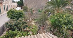 Typical Majorcan house with large garden.