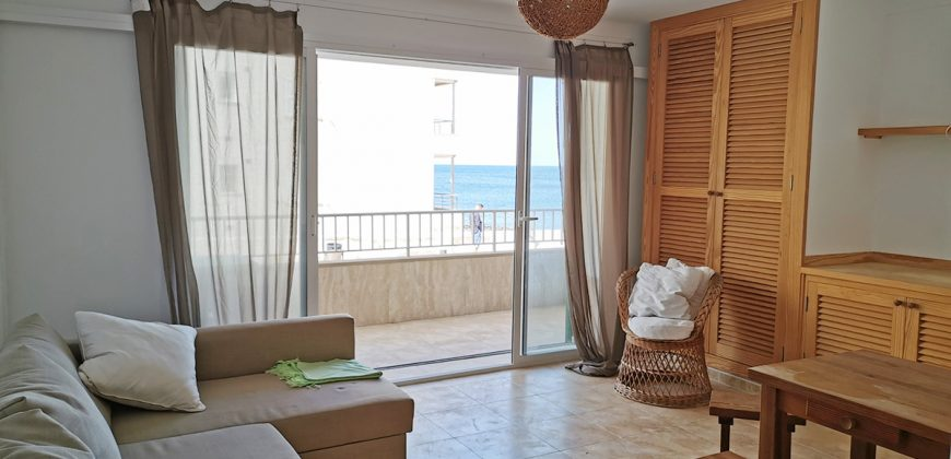 Nice ground floor apartment of 50 m2, terrace with sea view