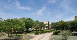 Fantastische Finca am Stadtrand von Colonia de Sant Jordi mit Blick auf die Insel Cabrera.